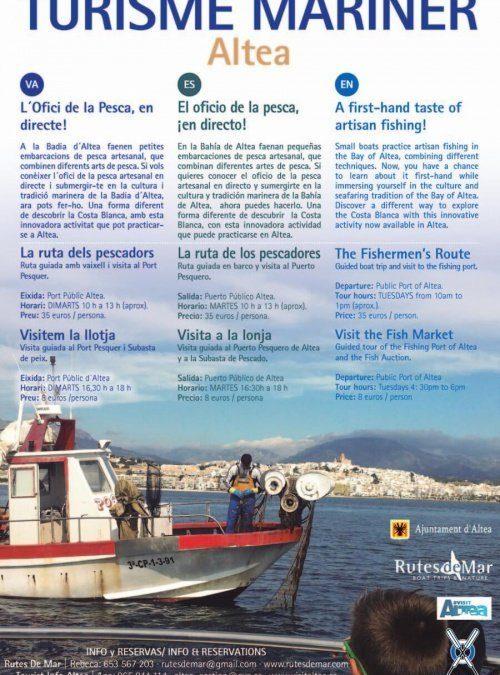 Turisme Mariner: El oficio de la pesca