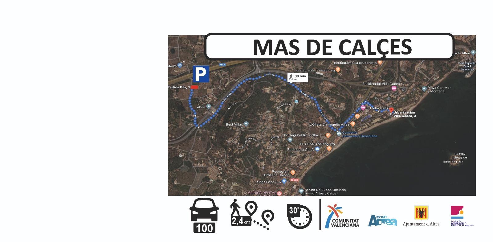 Parking castell de l'olla